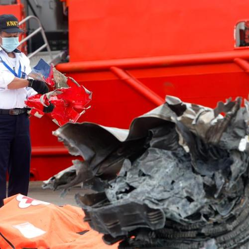 Photo Story: The aftermath of the crash of Sriwijaya Air flight SJ182