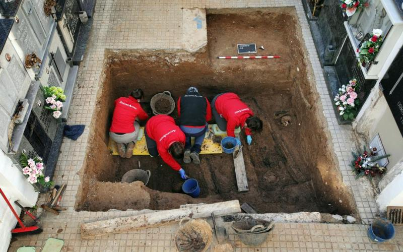 Photo Story: Exhumation of bodies executed during Spanish Civil War and Franco's dictatorship