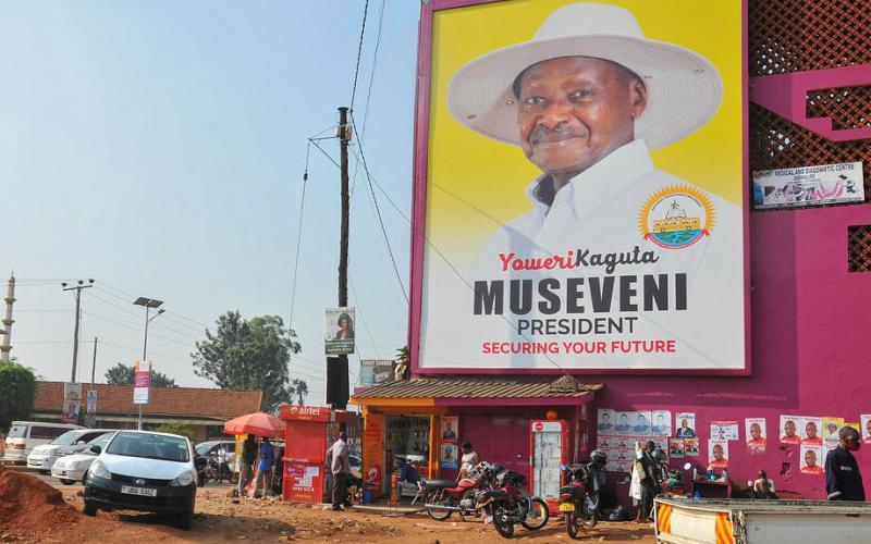 UPDATED: Uganda's Museveni declared winner of presidential poll
