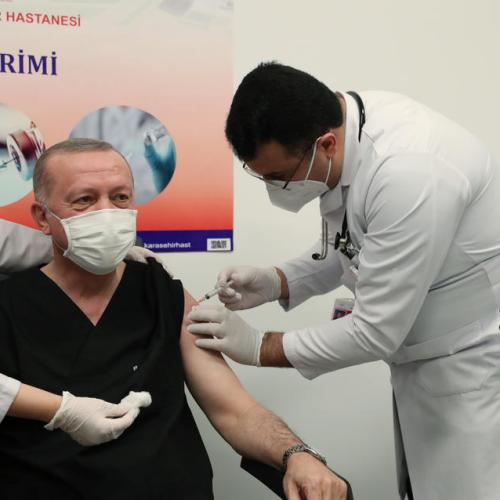 Turkey vaccinates half a million people in first two days
