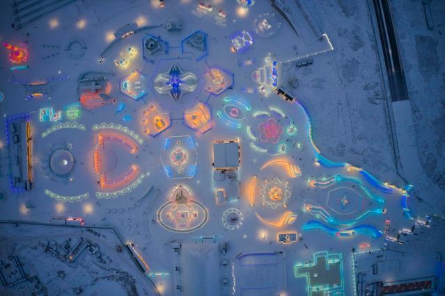 Photo Story: Ice City in Harbin amid Covid pandemic
