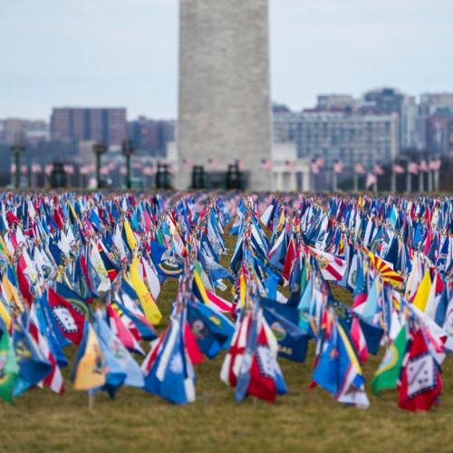 Photo Story: 'Field of Flags' in Washington ahead of inauguration