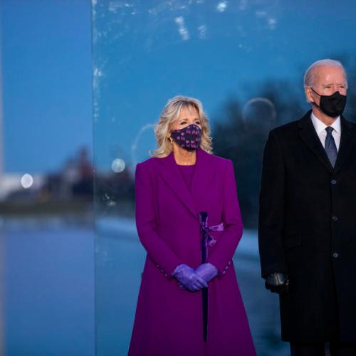 Biden leads observance of America's 400,000 COVID-19 dead on eve of inauguration