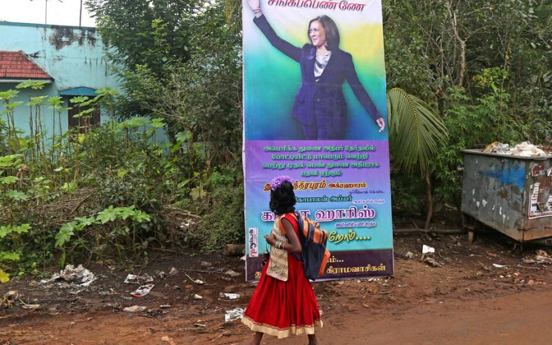 Photo Story: Kamala Harris' ancestral village in India celebrates  US Presidential Inauguration