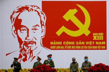 Photo Story: Preparations for the 13th National Congress in Hanoi