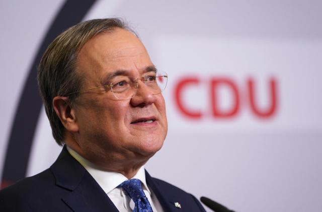 German CDU confirms Laschet as new leader