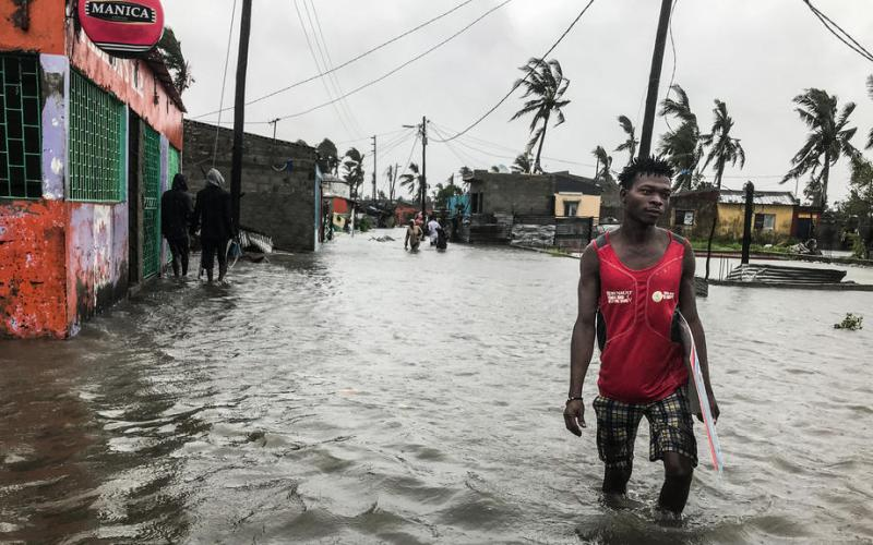 Tropical cyclone Eloise makes landfall in Mozambique