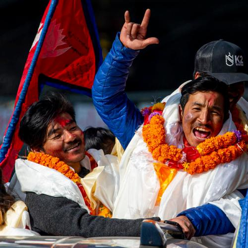 Photo Story: First climbers to summit Pakistan's K2 in winter