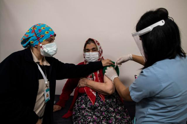 Photo Story: COVID-19 vaccination in Istanbul, Turkey