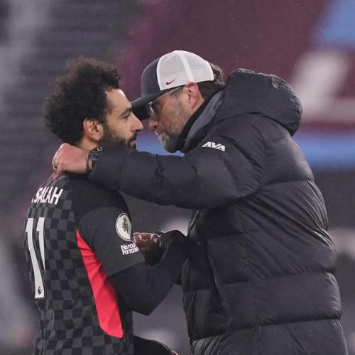 Salah double fires Liverpool to victory at West Ham