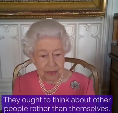 COVID shot is quick and doesn't hurt, says Britain's Queen Elizabeth