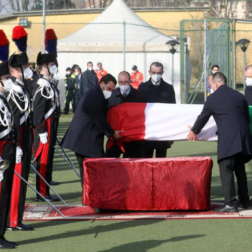 Photo Story: Slain Italian ambassador Attanasio laid to rest