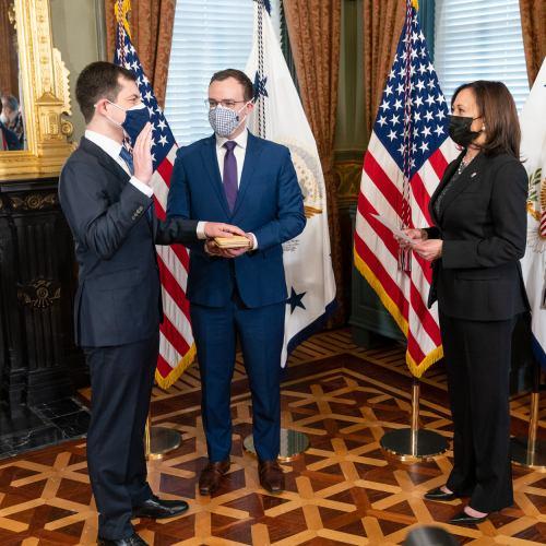 New U.S. transportation chief optimistic about future of travel despite COVID-19
