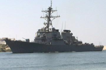 U.S. and Canadian warships sailed through Taiwan Strait last week