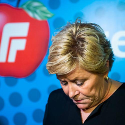 Norway's right-wing populist party leader Jensen to step down