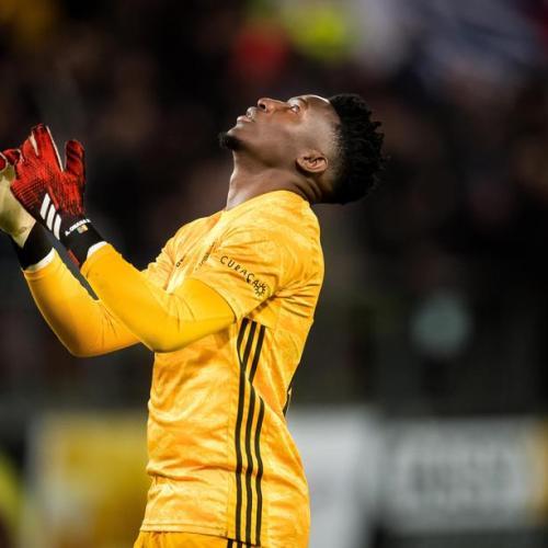 Ajax goalkeeper, Andre Onana, handed 12-month suspension for doping violation