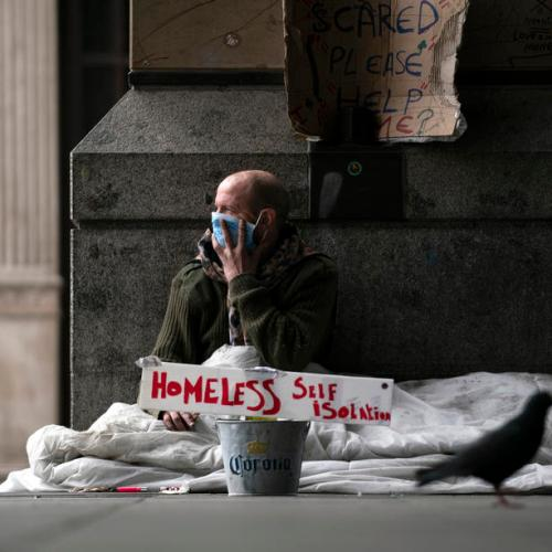 More than 40% of Britons in poor health or struggling financially amid pandemic
