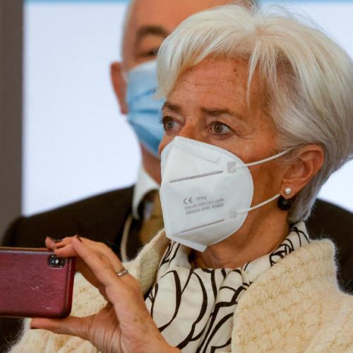 Euro zone recovery delayed, to gather pace from mid-year – Lagarde