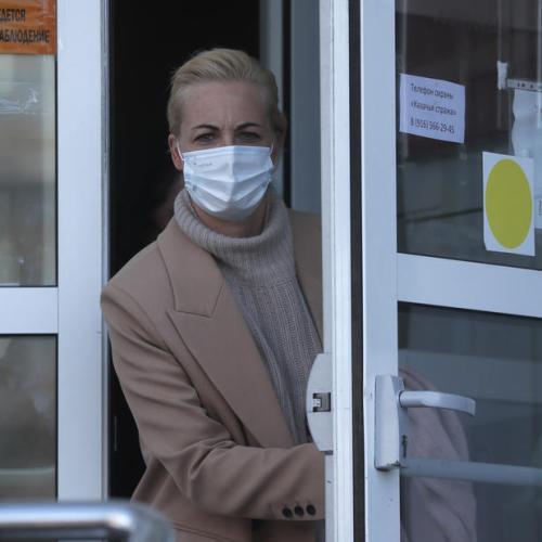 Wife of jailed Kremlin critic Navalny arrives in Germany – Spiegel