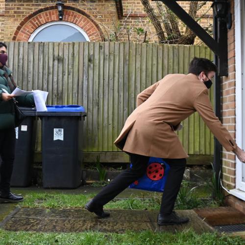 Britain must urgently stamp out coronavirus mutations, Hancock says