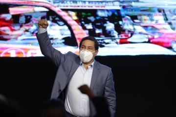 Arauz wins first round of Ecuador vote, runner-up too close to call