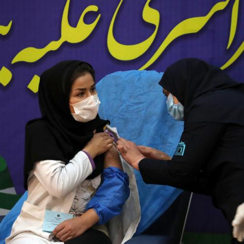 Iran faces COVID surge in southwest, receives second vaccine batch