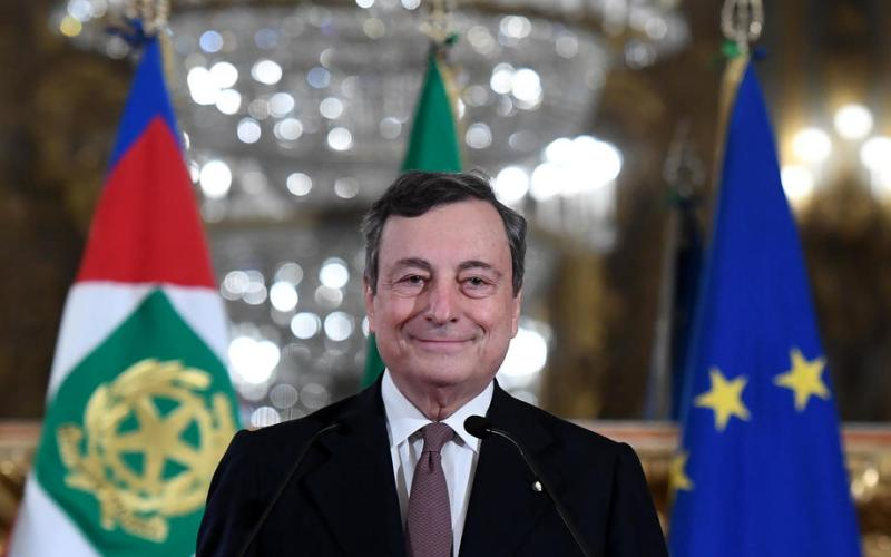 Draghi wants new Italian airline launched before the summer