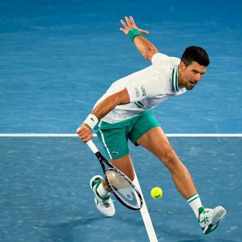 Djokovic advances, Osaka, Williams win thrillers; Thiem crashes out