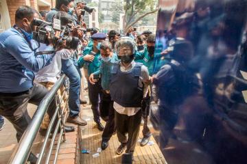 Bangladesh court sentences five to death for killing U.S. blogger