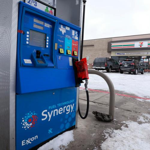 Oil prices extend gains as Texas cold snap cuts U.S. output