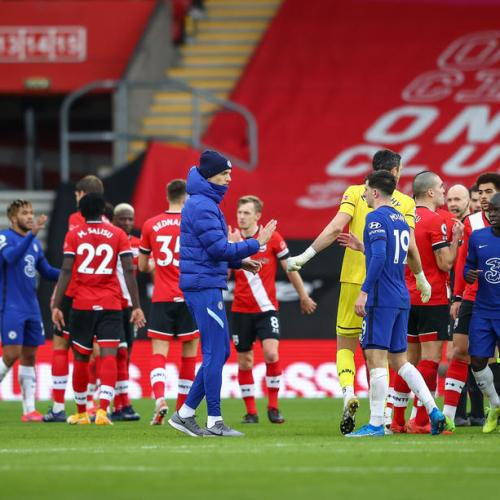 Chelsea held by Southampton