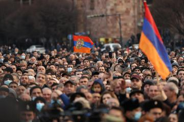 Armenian president refuses order to dismiss army chie