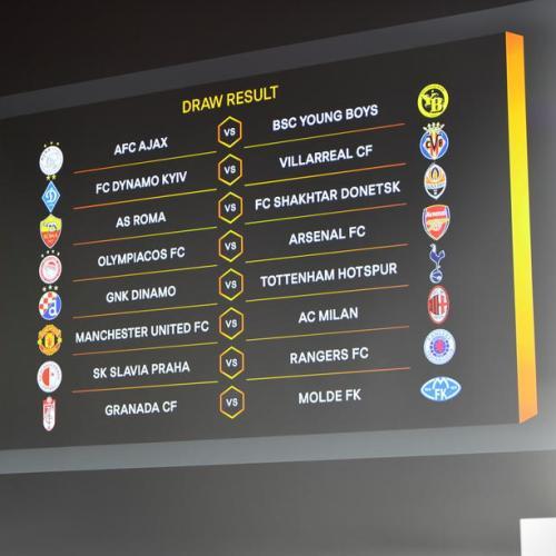 Milan v Man Utd lights up Europa League last 16 draw