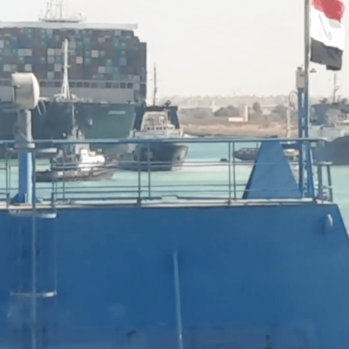 Suez Canal traffic resumes after stranded ship refloated