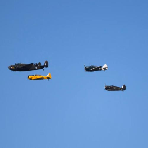 Photo Story: RAAF Centenary commemoration in Canberra