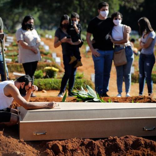 Brazil hits record 100,000 coronavirus cases in a day