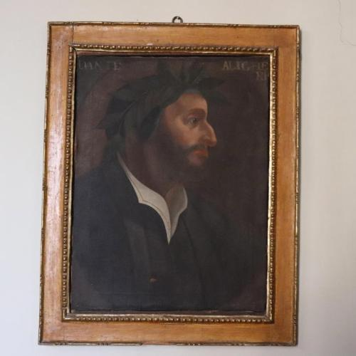 Photo Story: Unpublished painting depicting Italian poet Dante Alighieri in Orvieto