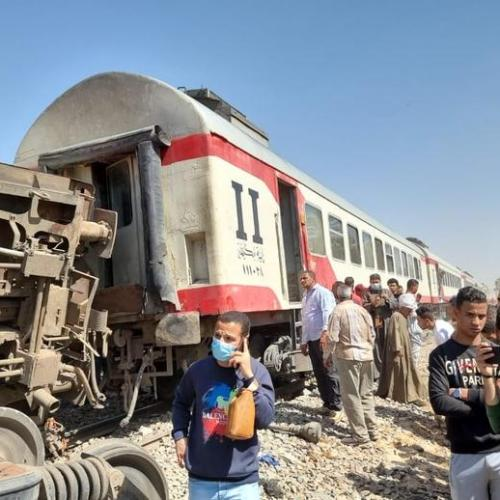 UPDATED: Two trains collide in Egypt, at least 30 killed