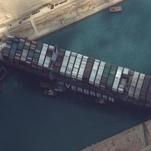 UPDATED: No success so far in dislodging mega vessel stuck in the Suez Canal