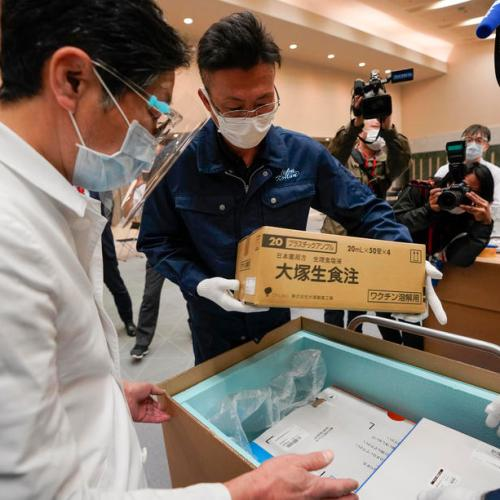 Japan COVID-19 inoculations hit by vaccine, syringe shortages