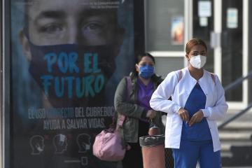 Mexico's coronavirus death toll rises to 190,604