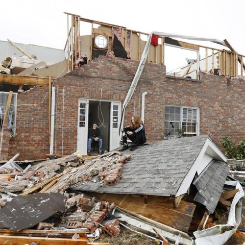Photo Story: Aftermath of the tornadoes that hit Alabama and Georgia