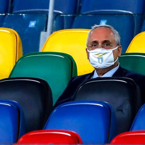 Lazio fined, president banned for COVID-19 protocol violations
