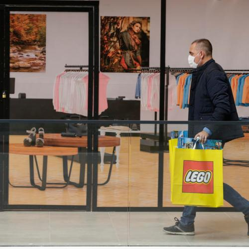 Lockdown brings double digit growth to Lego