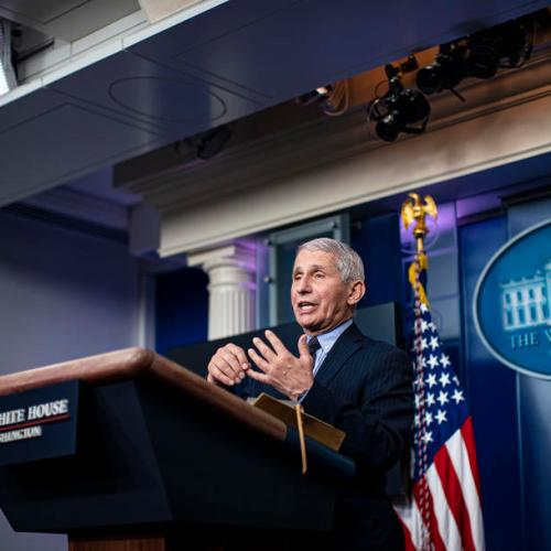 Fauci urges Americans to get any of the three COVID-19 vaccines available