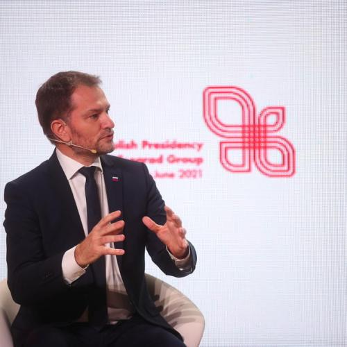Slovak PM says lives at stake as he pushes EU to speed up vaccine approvals