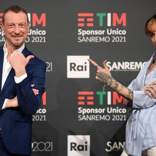 Photo Story: Italy prepares for the 71st Sanremo Music Festival