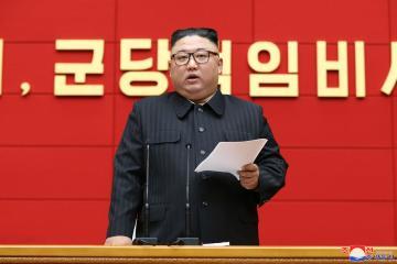 North Korea's Kim calls for relief campaign in rain-hit areas
