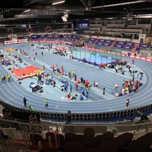 """""""Today we will start again"""" – Interim Athletics European President hails return of competitions"""