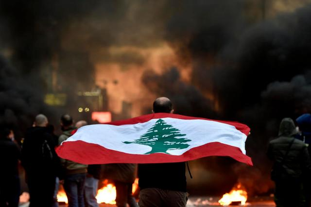 Photo Story: Anti-government protest against power cuts and high cost of living, Lebanon